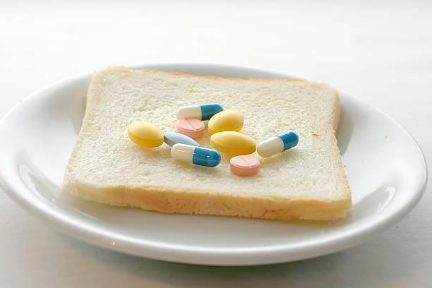 pills for breakfast - ketamine stockfoto's en -beelden
