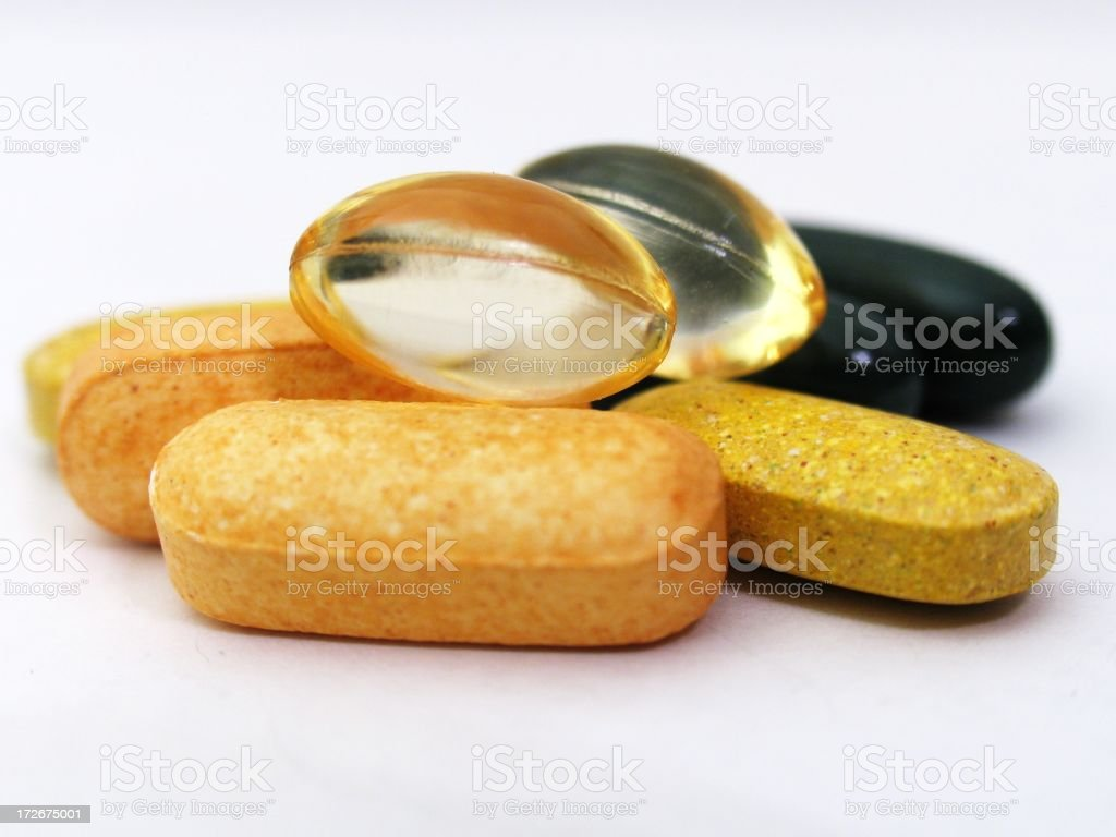 Pills - Isolated 5 royalty-free stock photo