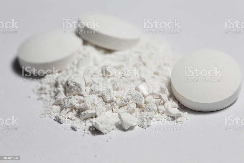 pills medicine vitamins stock photo