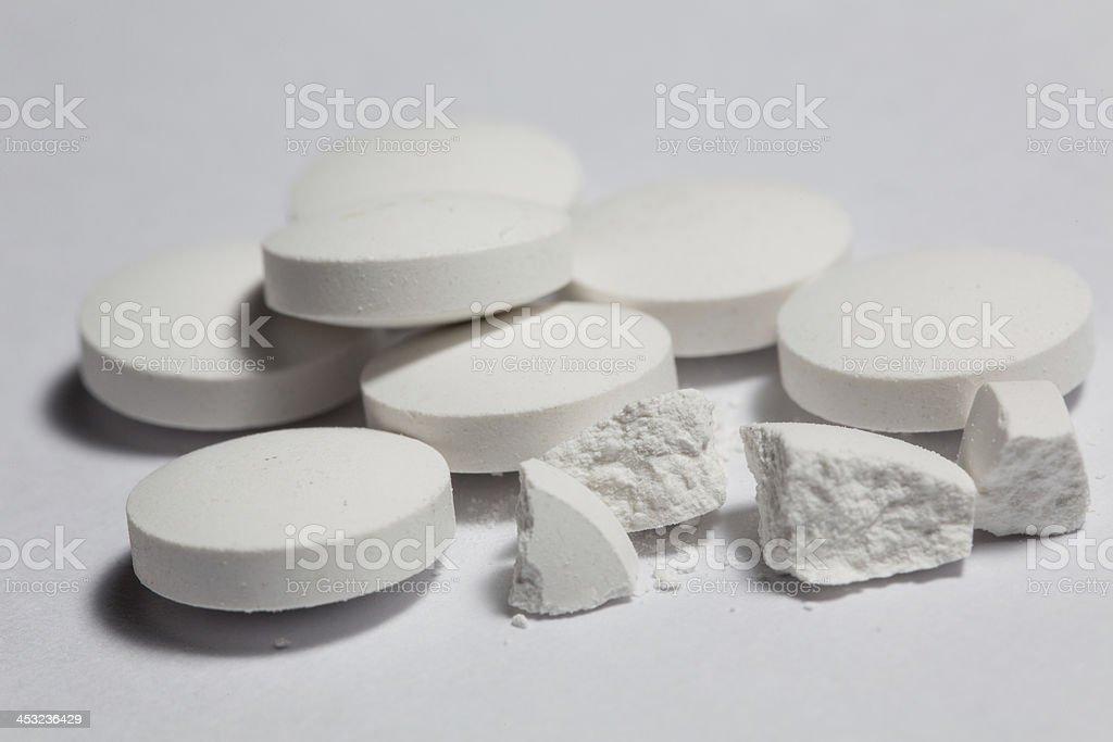 pills medicine vitamins stock photo