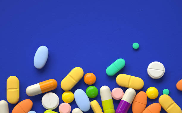 pills pile of colorful pills,3d rendering,conceptual image. prescription stock pictures, royalty-free photos & images