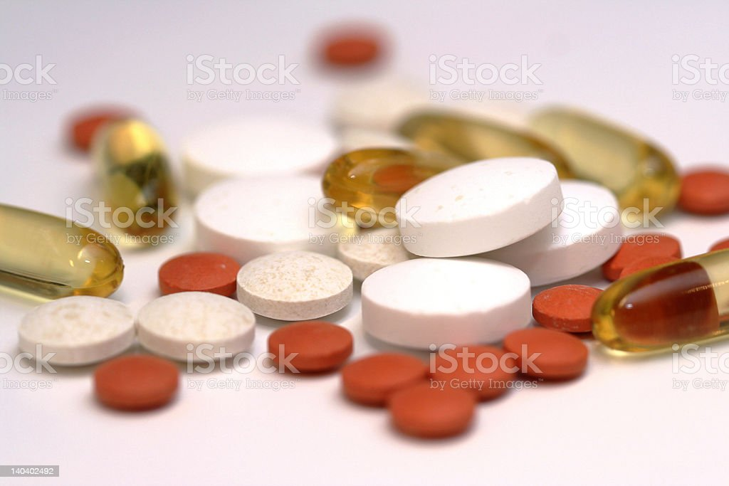 pills royalty-free stock photo