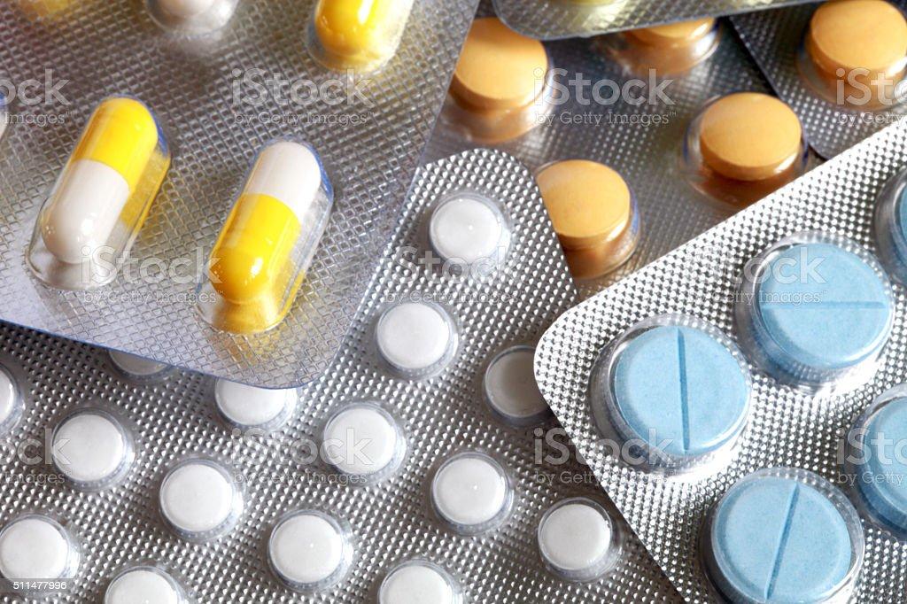 Píldoras - foto de stock