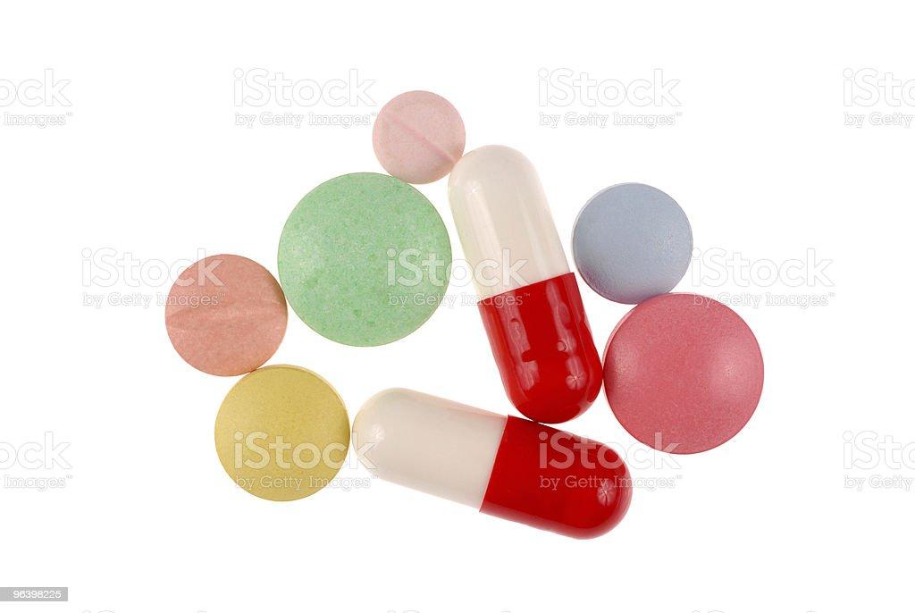 Pills - Royalty-free Addiction Stock Photo