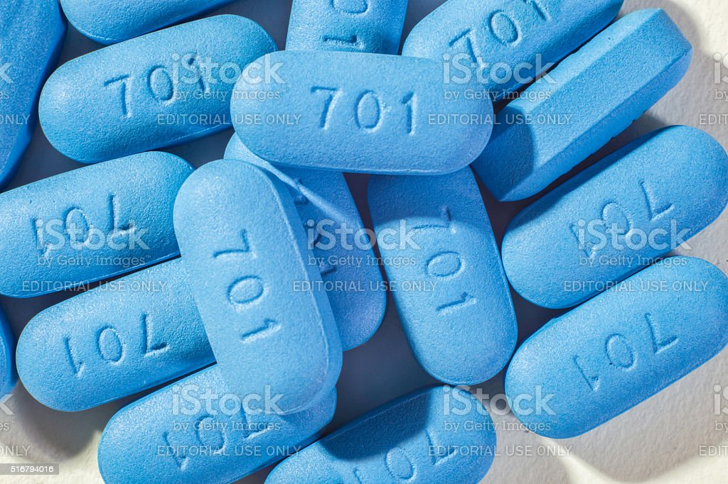 Pills used for HIV Prophylaxis royalty-free stock photo
