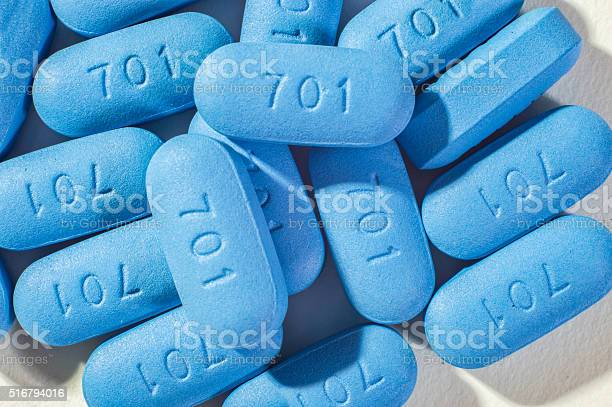 Pills Used For Hiv Prophylaxis Stock Photo - Download Image Now