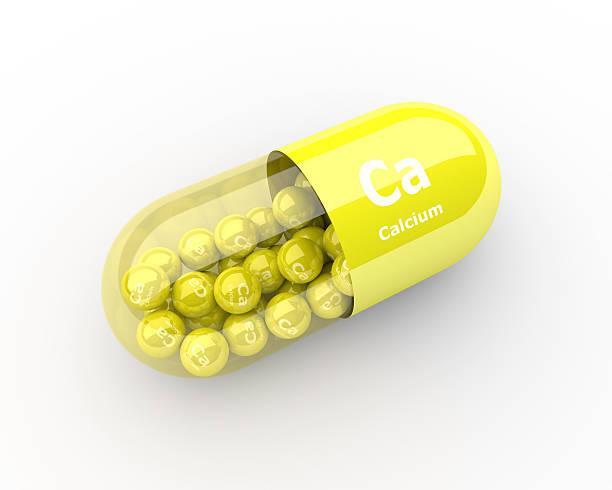 pills with calcium ca element dietary supplements - 鈣 個照片及圖片檔