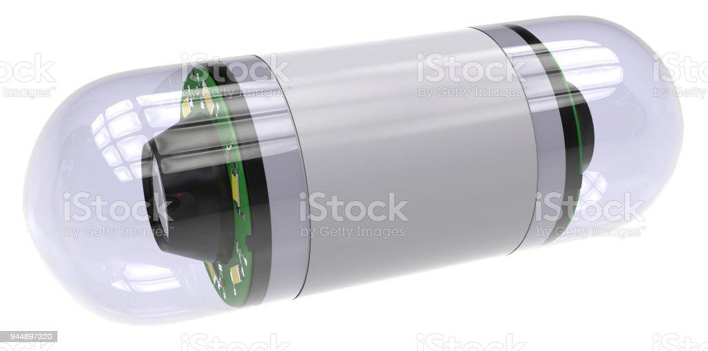 Pille-Kamera für die Kapselendoskopie – Foto