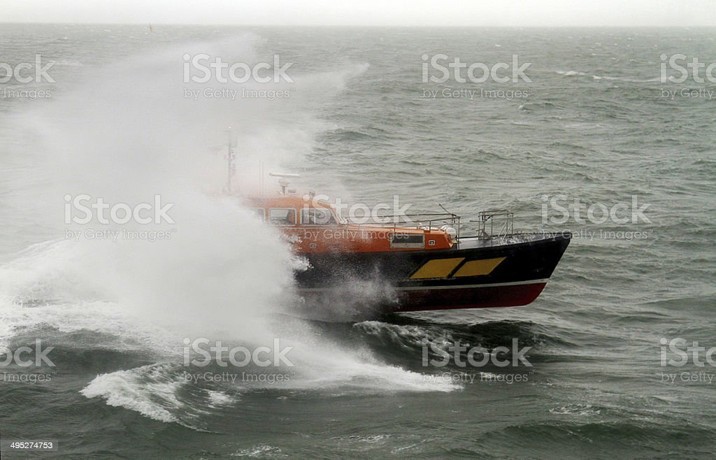 Pilot Boat Endeavour royalty-free stock photo