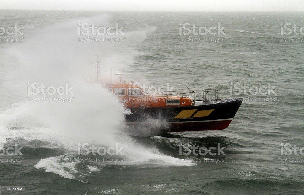 Pilot Boat Endeavour stock photo