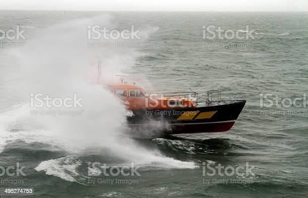 Pilot Boat Endeavour Stock Photo - Download Image Now