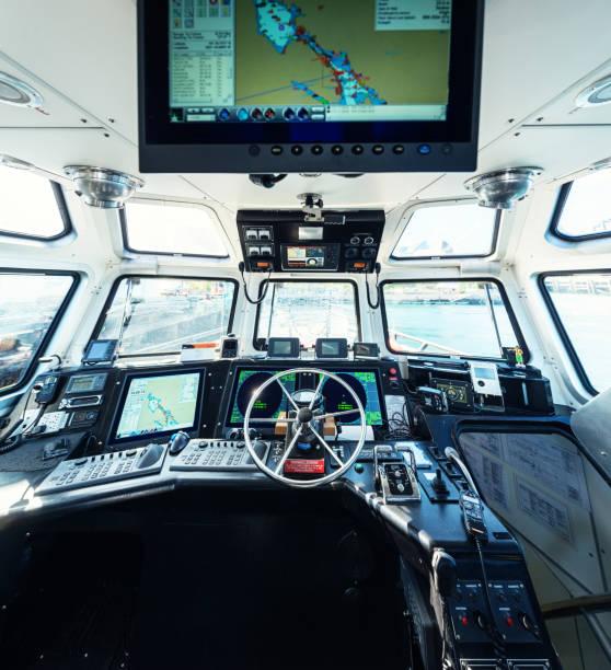 pilot boot - steuerungstechnik stock-fotos und bilder