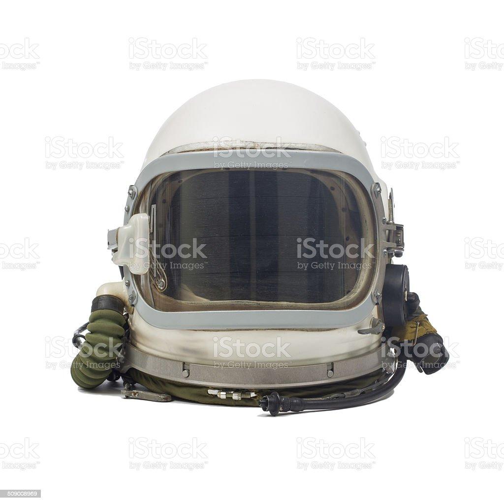 Casco pilota militare - foto stock