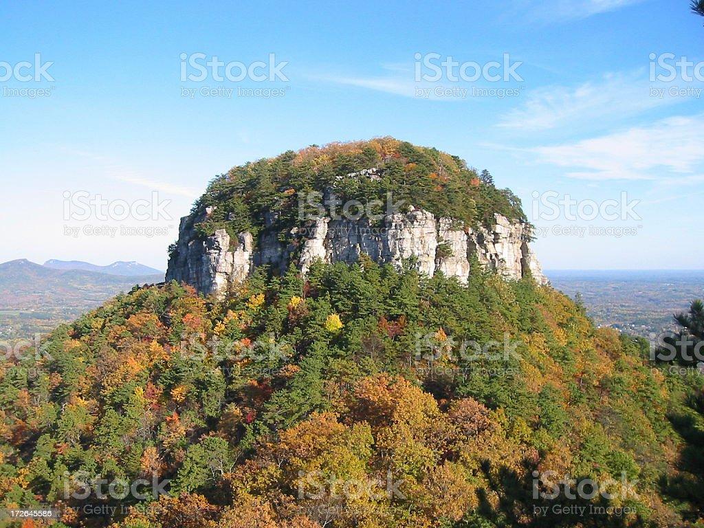 Pilot Mountain NC royalty-free stock photo