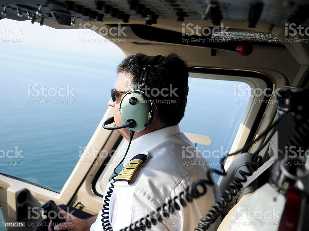 Pilot royalty-free stock photo