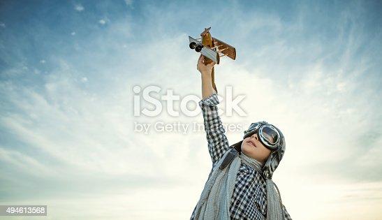 istock Pilot 494613568