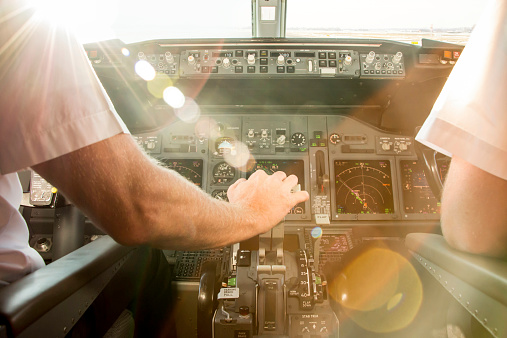Pilots before take off