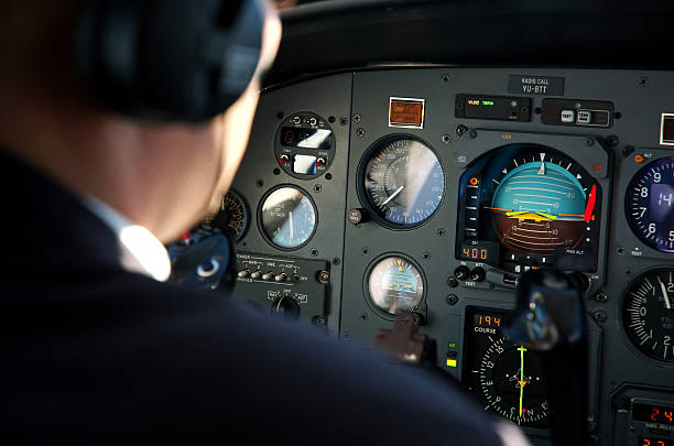 Piloten-Kabine – Foto