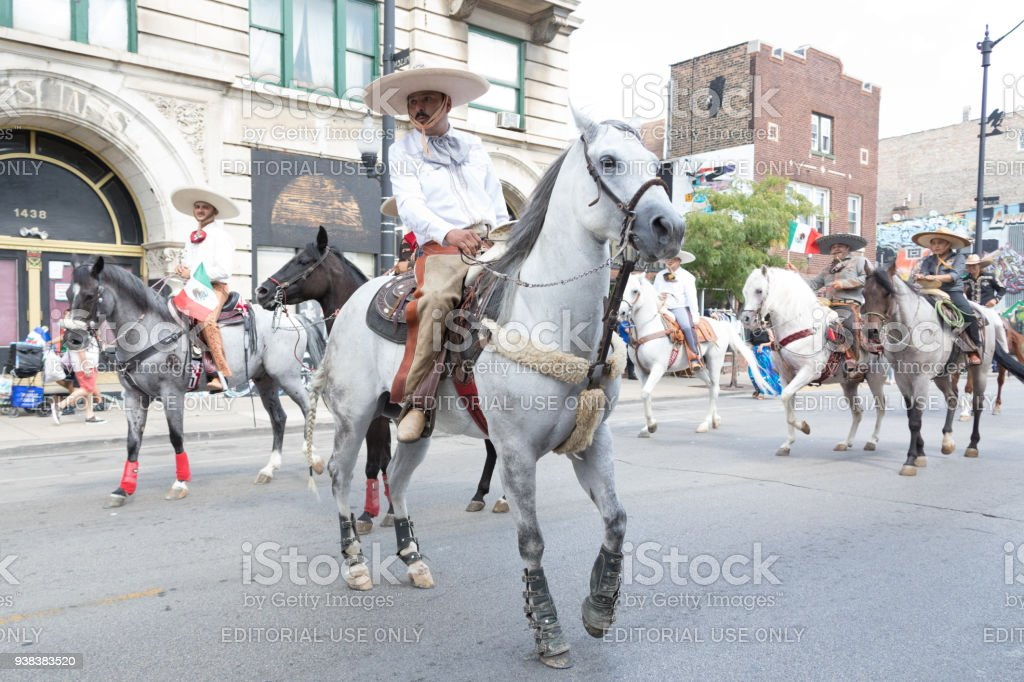 Pilsen Mexican Independence Day Parade 2017 Stock Photo