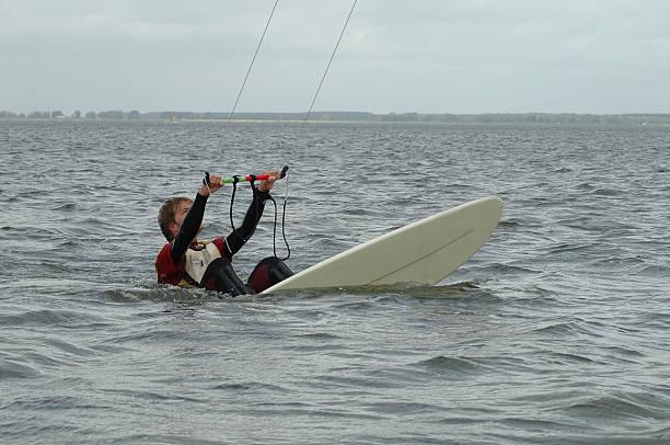 pim-kite 5 - kitesurfen lernen stock-fotos und bilder