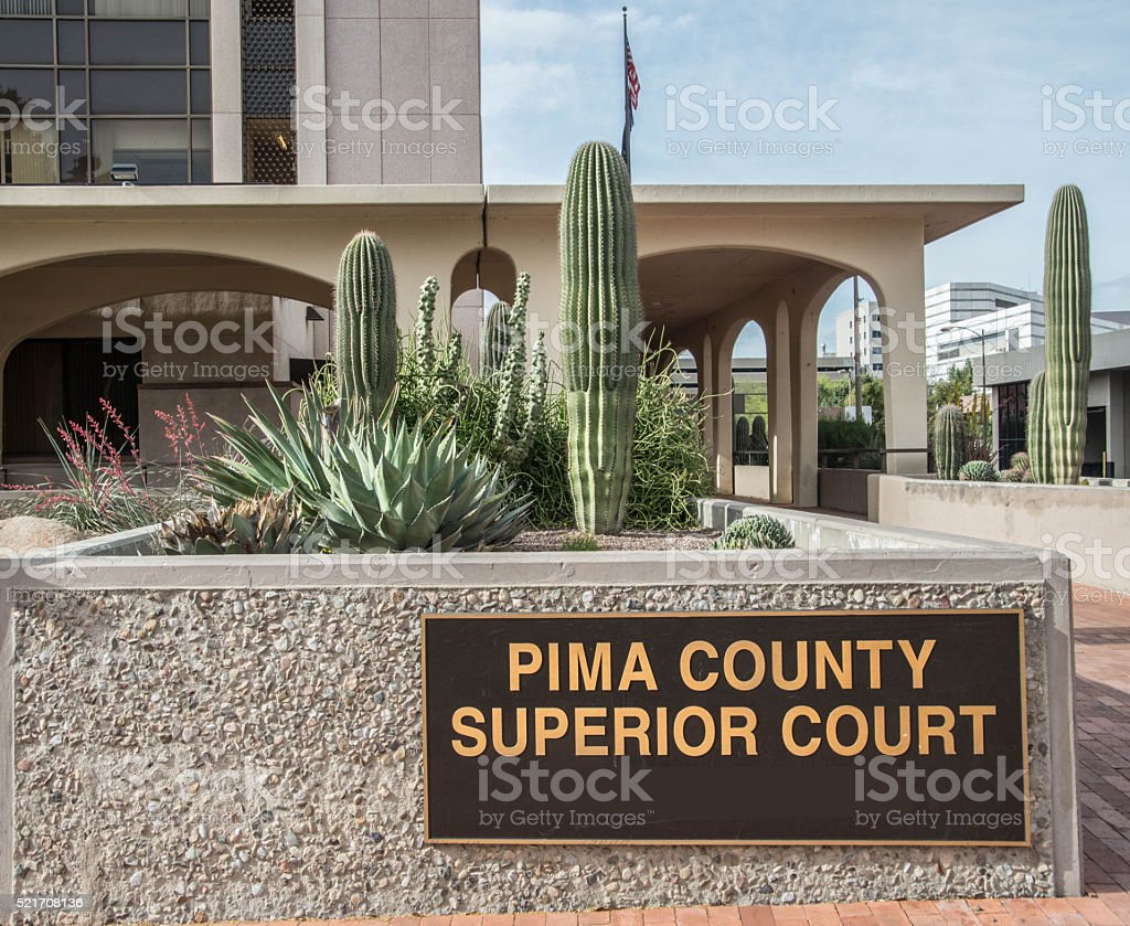 Pima County Superior Court stock photo