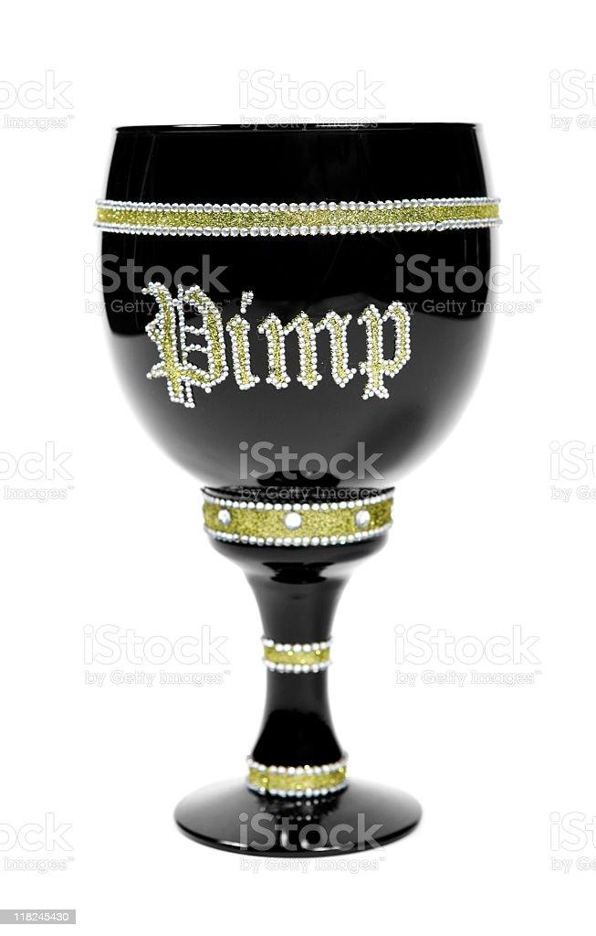 Pimp Cup stock photo
