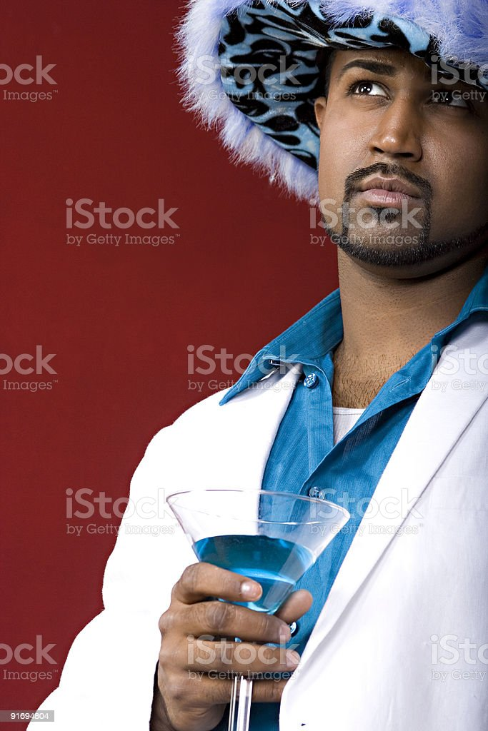 Pimp royalty-free stock photo