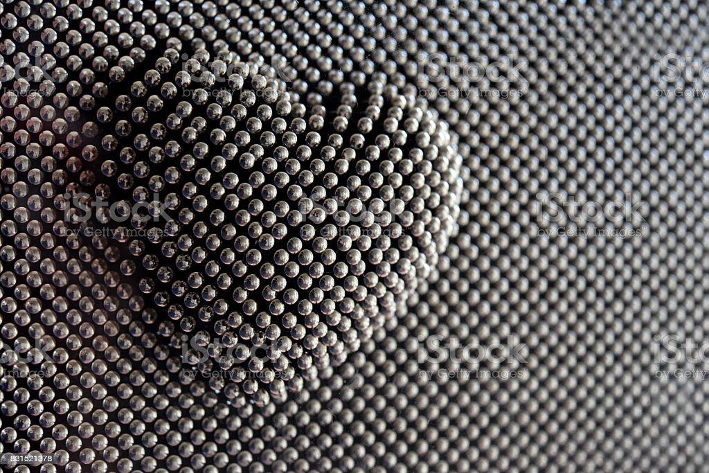 Corazón del arte PIN - foto de stock
