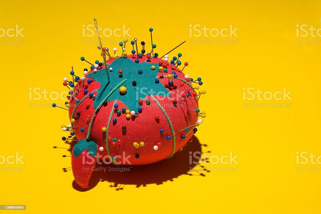Pin Cushion royalty-free stock photo