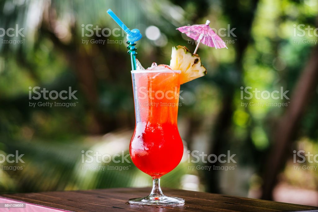 Pin Orange cocktail royalty-free stock photo