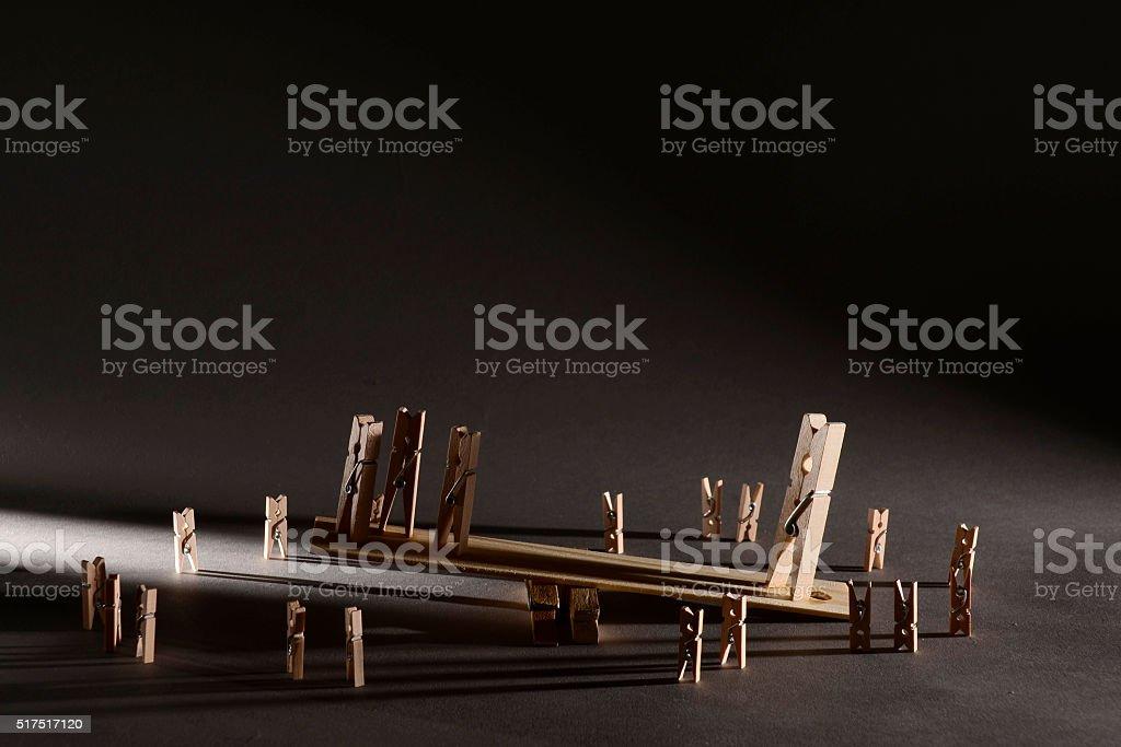 Juego de madera - foto de stock