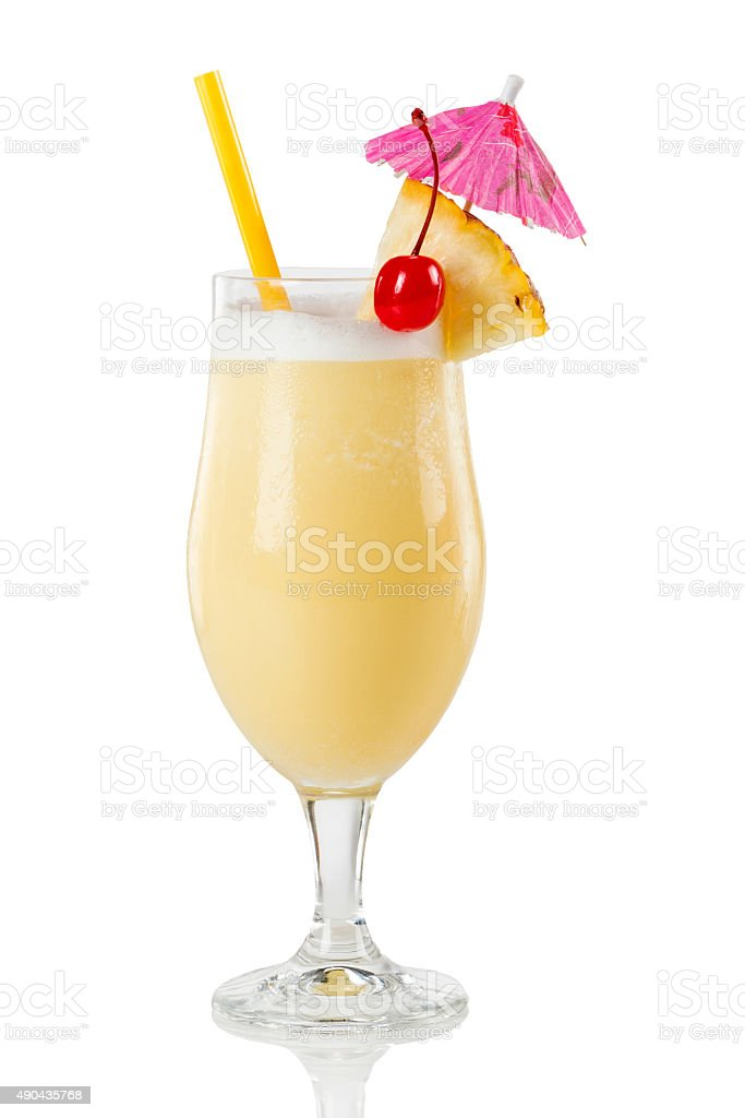 Pina colada cocktail - Photo