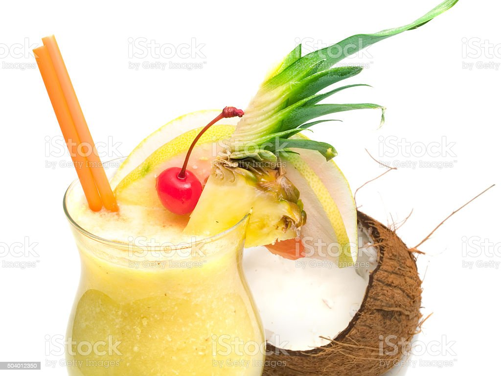Pina Colada cocktail - Photo