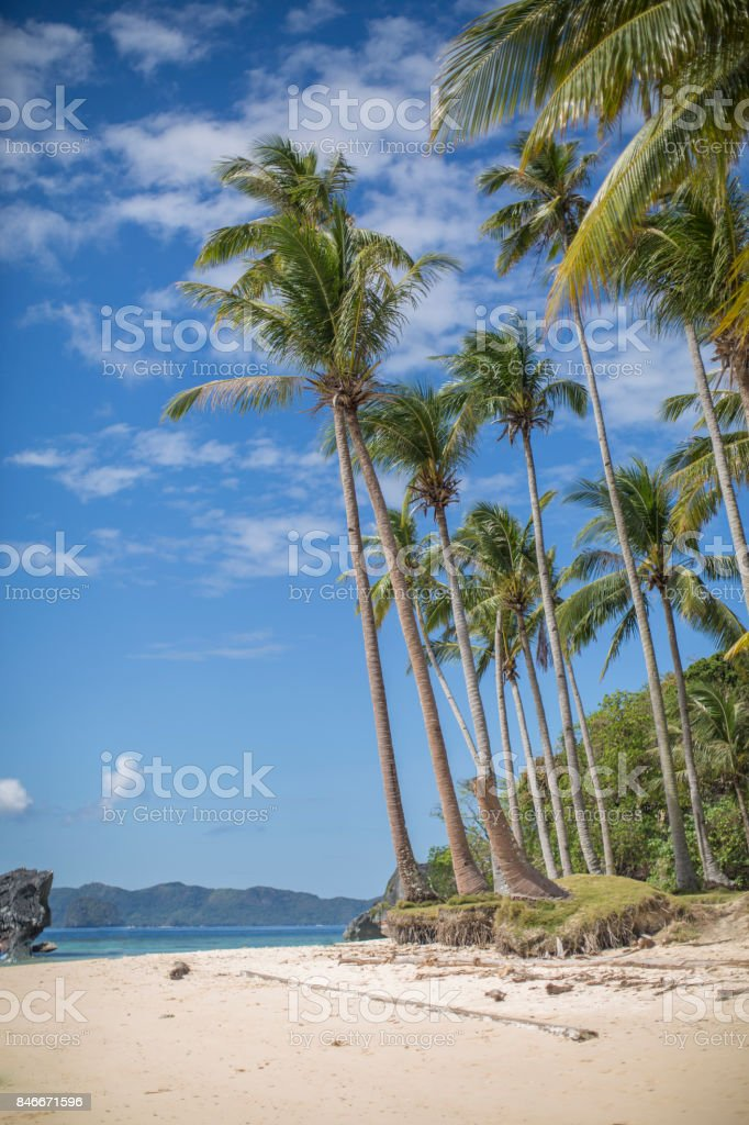 Pinagbuyutan Island El Nido Philippines Stock Photo