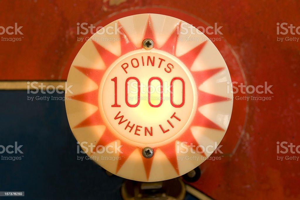 Pinball Bumper stock photo