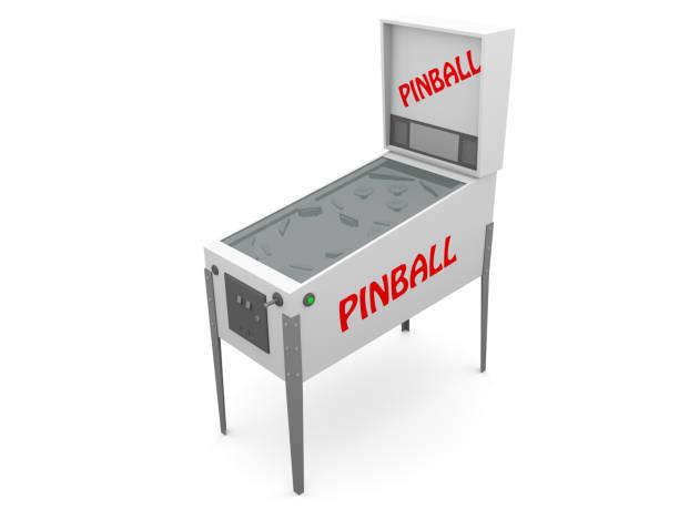 flipper - pinball spielen stock-fotos und bilder