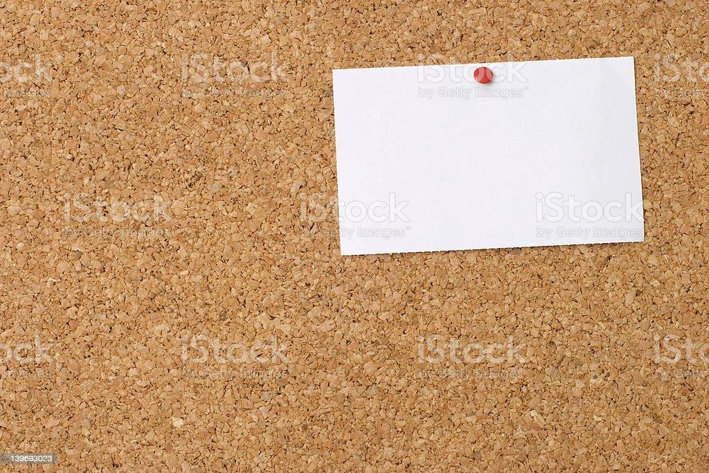 Pinboard royalty-free stock photo