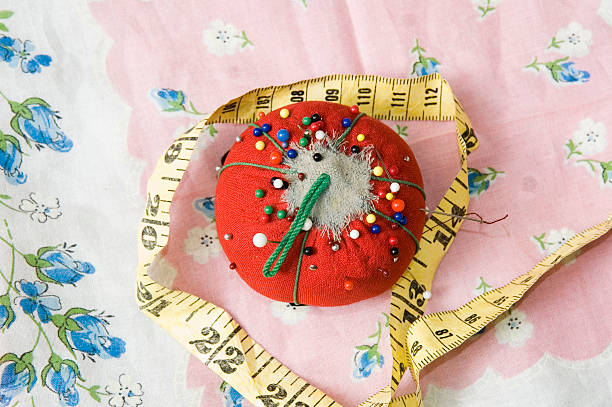 pincushion stock photo