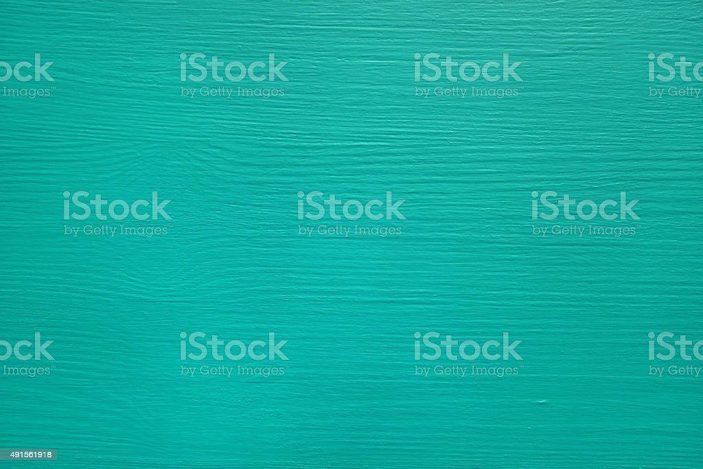 Pine board painted teal stock photo