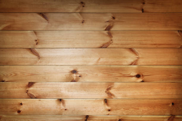 pine boards horizontal 2 stock photo