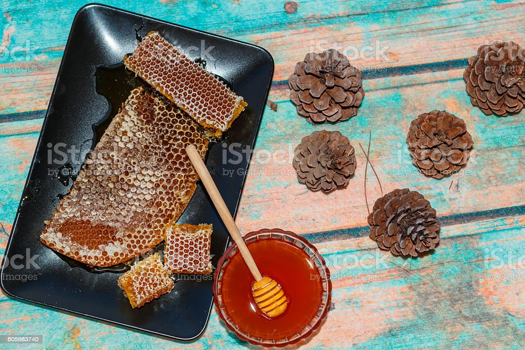 pine Marmaris Honey stock photo