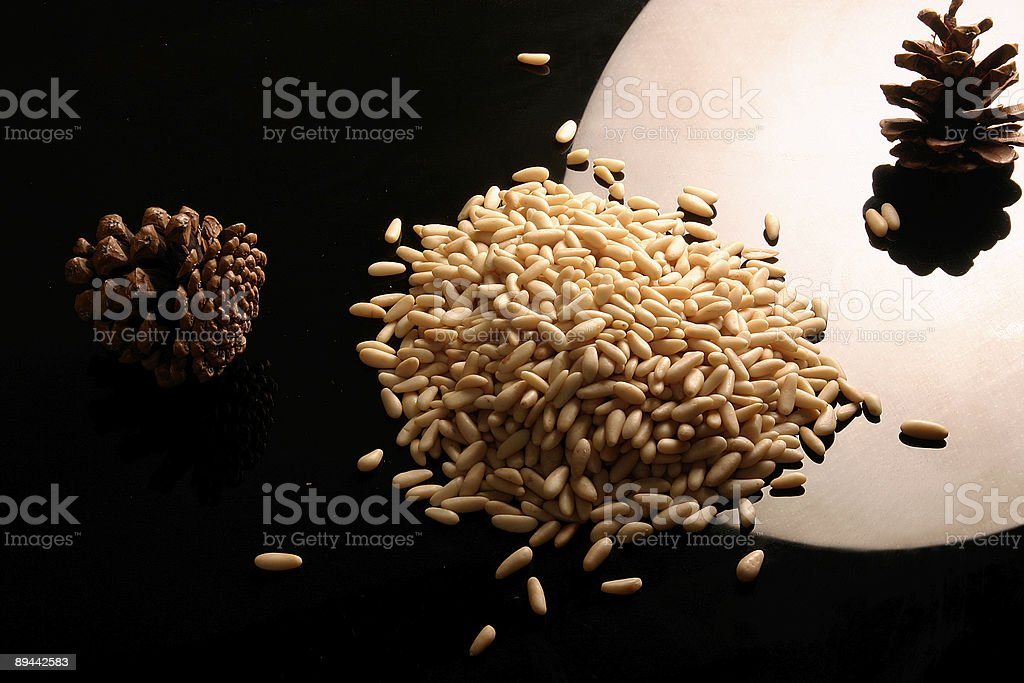 pine nut royalty-free stock photo