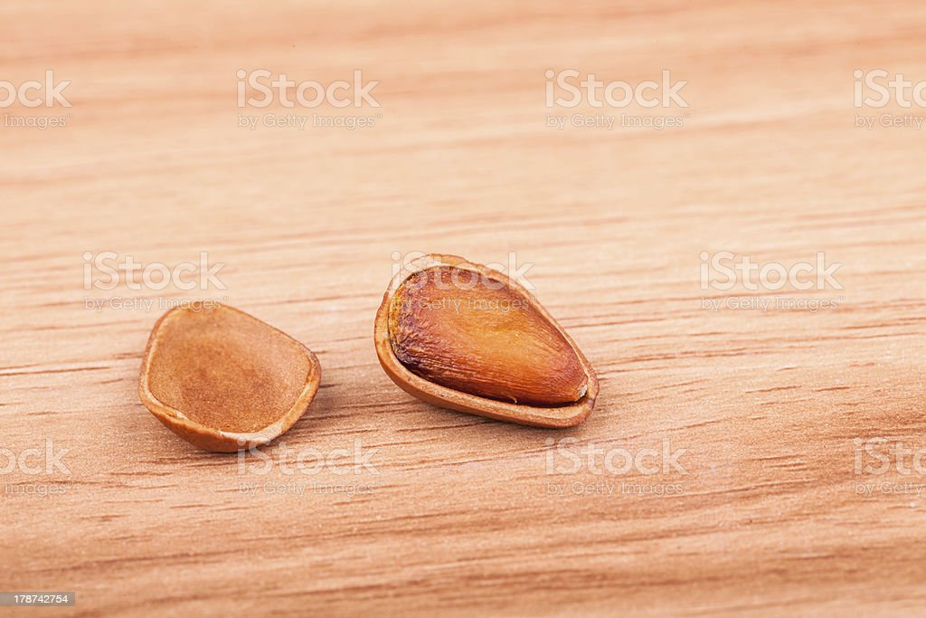 pine nuts royalty-free stock photo