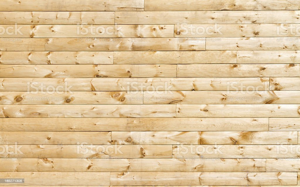 Pine Siding stock photo
