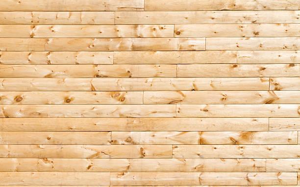 Pine Siding stock photo