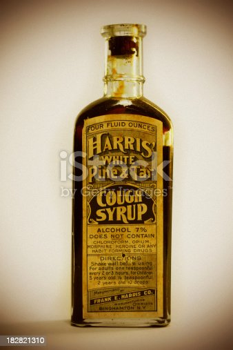 Pine Tar Cough Syrup 1800s Stock Photo & More Pictures of 19th Century Style iStock