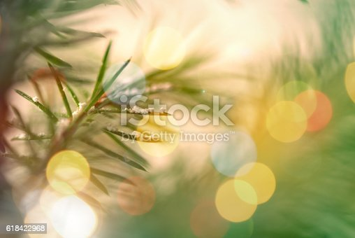 875265254 istock photo Pine Tree Background For Christmas Decoration 618422968