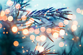 istock Pine tree background for Christmas Decoration 875265254
