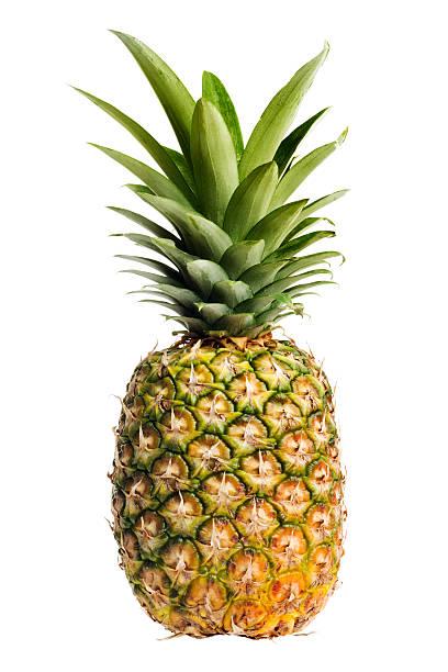 Ananas, mûre, de fruits frais, ensemble de cuisine, isolé sur blanc - Photo