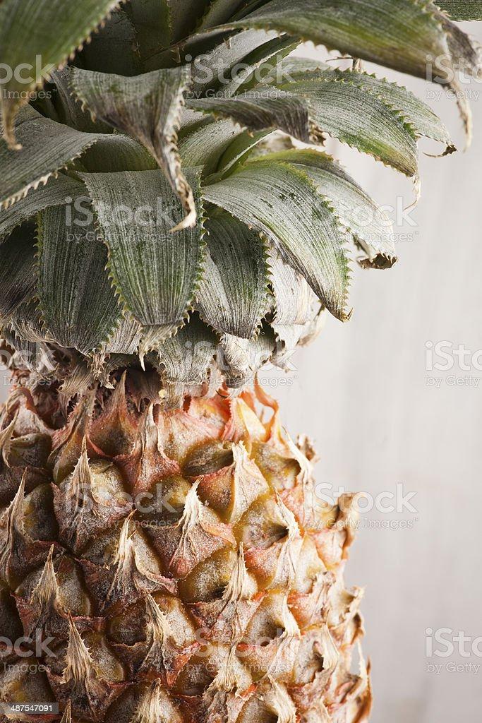pineapple background texture stock photo